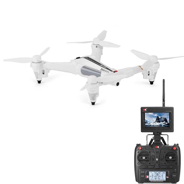 XK X300 FPV (มีจอ+รีโมทใหญ่) Optical Flow Sensor 5.8GHz บินนิ่งแบบไม่ง้อGPS