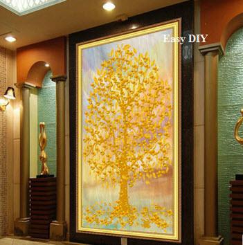 ต้นไม้สีเหลืองทอง