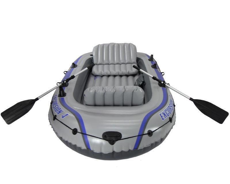 Intex Excursion เรือยาง ฟรี กระเป๋า Intex + ที่สูบ Double