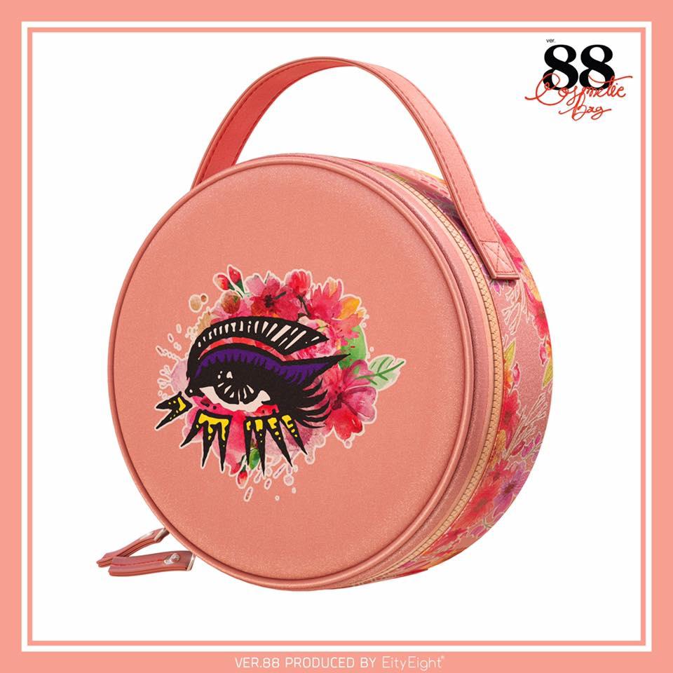 Ver.88 Peach Blossom Cosmetic Bag (Limited) ส่งฟรี EMS