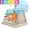 Intex Animal Trails Indoor Play Tent บ้านบอลทรงเต็นท์ลมลายสัตว์ป่า 48634