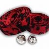 ผ้าพันแฮนด์ ลายทหารพราง (สีแดง/ดำ)