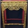 ตั่งหรือโต๊ะลายไทย งานเก่า 25.5x51x63cm