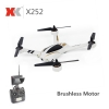 XK X252 brushless quad with 5.8 FPV