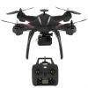 X21 GPS Wifi FPV 2.4GHz มอเตอร์ Brushless บินตามตัวได้ 1080P ลูกยางกันสั้น, ปรับมุมกล้องได้