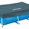ผ้าคลุมสระน้ำขนาดใหญ่ทรงเหลี่ยม Metal Frame pool Intex-28038