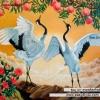 ครอสติสคริสตัลรูปนกกระเรียนคู่รัก สัตว์มงคลส่งเสริมด้านความรัก