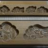 พิมพ์ขนมไม้แกะสัญลักษณ์มงคลจีน 4 หลุม พิเศษเหลือ