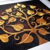อุปกรณ์งานฝีมือ DIY ครอสติสคริสตัลรูปต้นโพธิ์มงคล (ใหญ่) By Easy DIY