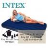 Intex Classic Downy Bed Twin ที่นอนเป่าลม 3 ฟุต สีฟ้า พร้อมปั้มไฟฟ้า 68757