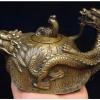 กาทองเหลือง-สามสัตว์มงคล เต่ามังกร มังกร หงส์