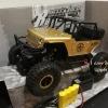 รถจิ๊บบังคับไฟฟ้า jeeb ไต่หิน4x4 1/14 เคลื่อน 2.4 Gz no.699-112B (สีเหลืองทอง)