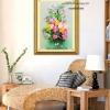 งานปักริบบิ้นรูปดอกทิวลิปและไฮเดรนเยีย by Easy DIY ครอสติสคริสตัล