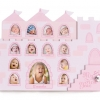 1st Year Musical Photo Frame Castle - Pink