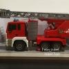 รถดับเพลิงบังคับ(ฉีดน้ำได้จริง) RC Fire Truck 1/20 เคลื่อน 2.4GHz ยกและเลื่อนบันไดได้