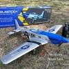 เครื่องบินมัสแตง Volantex P-51D มอเตอร์บรัสเลส 1,800 kv Mustang 75CM.