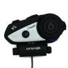 บูลทูธติดหมวกกันน๊อต บิ๊กไบค์ Bluetooth Intercom Headset- Vimoto V6