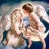 ครอสติสคริสตัลรูปเทวดาและนางฟ้าตัวน้อย สวยงามหรูหรา มีเอกลักษณ์
