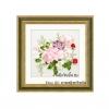 งานปักริบบิ้น (Ribbon embroidery) รูปดอกไม้คลาสิค 7 By Easy DIY ครอสติสคริสตัล