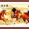 ม้าแปดตัวในทุ่งกว้าง