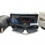 กล้องแว่นตากันแดดทรงสปอร์ต Eyewear Video Recorder Full HD 1080P <ดำ> ของแท้ 100%