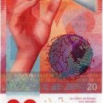 ธนบัตรรุ่นล่าสุดของ Switzerland ชนิดราคา 20 ฟรังค์ ที่นักสะสมนิยมที่สุดในขณะนี้