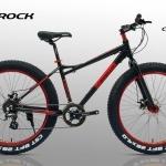 จักรยานล้อโต CANNELLO รุ่น THE ROCK สีดำล้อแดง