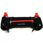 กระเป๋าคาดเอวพร้อมขวดน้ำ 2 ขวด (สีส้ม) Hydration Running Belt