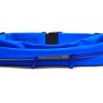 กระเป๋าคาดเอว 2 ซิป เกรด Premium ผ้าสัมผัสเนียนนุ่ม และกันน้ำ (สีน้ำเงินฟ้า)