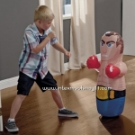 Intex Bop Bags Boxing ตุ๊กตาล้มลุกเป่าลม ลายนักมวยสีฟ้า 44672