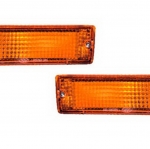 02-234 R/L Amber Front Direction Indicator Lamp, Amber Lens