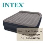 Intex Unisex Queen Deluxe ขนาด 5 ฟุต ปั๊มลมในตัว รุ่น 64136