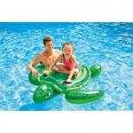 Intex Turtle Ride On แพยางว่ายน้ำเด็กรูปเต่าสีเขียว 57524