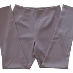 กางเกงขาเดฟเอวสูง ผ้าฮานาโกะ สีน้ำตาล Size S M L XL สำเนา