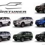 มาดูสเปคสีรถ New Fortuner 2015ใหม่กัน