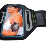Sport Armband รุ่น Super Slim สีเทาดำ