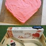 พิมพ์เค้กสแตนเลสหัวใจ