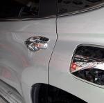 ครอบฝาถังน้ำมัน New Pajero Sport 2016 ยี่ห้อFITT