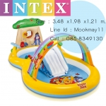 Intex Winnie The Pooh สระน้ำสไลเดร์หมีพูห์ 57136