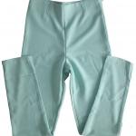 กางเกงขาเดฟเอวสูง ผ้าฮานาโกะ สีเขียวมิ้น Size S M L XL สำเนา