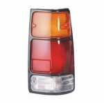04-447 R/L Black Rear Combination Lamp, Black Housing