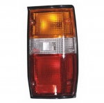 04-451 R/L Black Rear Combination Lamp, Black Housing