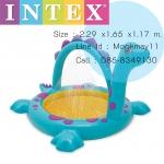 Intex Dino Spray Baby Paddling Pool สระน้ำเด็กไดโนเสาร์พ่นน้ำ 57437