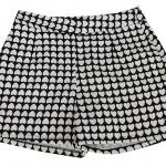 กางเกงขาสั้นเอวสูงผ้าฮานาโกะลายหัวใจ กระเป๋าขวาซิปซ้าย Size S M L XL