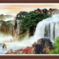 ครอสติสคริสตัล รูปวิวธรรมชาติ เสริมดวง เสริมฮวงจุ้ย