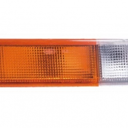 02-237 R/L Amber-Clear Front Direction Indicator, Front Position Lamp, Amber-Clear