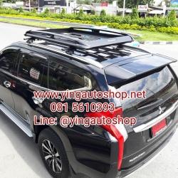 """แร็คหลังคา+ขาจับ New Pajero""""16 100X160 carryboy Cb-550N (สีดำ)"""