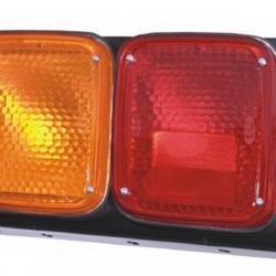 04-406 R/L Rear Combination Lamp, Steel Housing