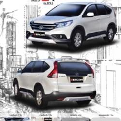 ชุดแต่งรอบคัน Honda New CRV 2013 (Zercon Z-l รุ่น ซี วัน)