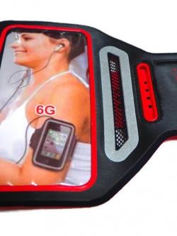 Sport Armband รุ่น Super Slim สีแดง